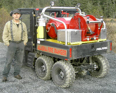 Photo of Brian Slover, Wildland Firefighter of Seldovia Village Area